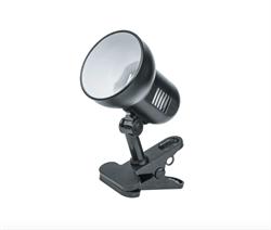 Лампа на прищепке для тента черная - фото 4866