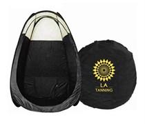 Мобильный тент La Tanning для моментального загара черный